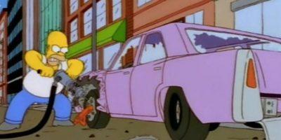 Ya sabemos qué modelo de automóvil conduce Homero Simpson