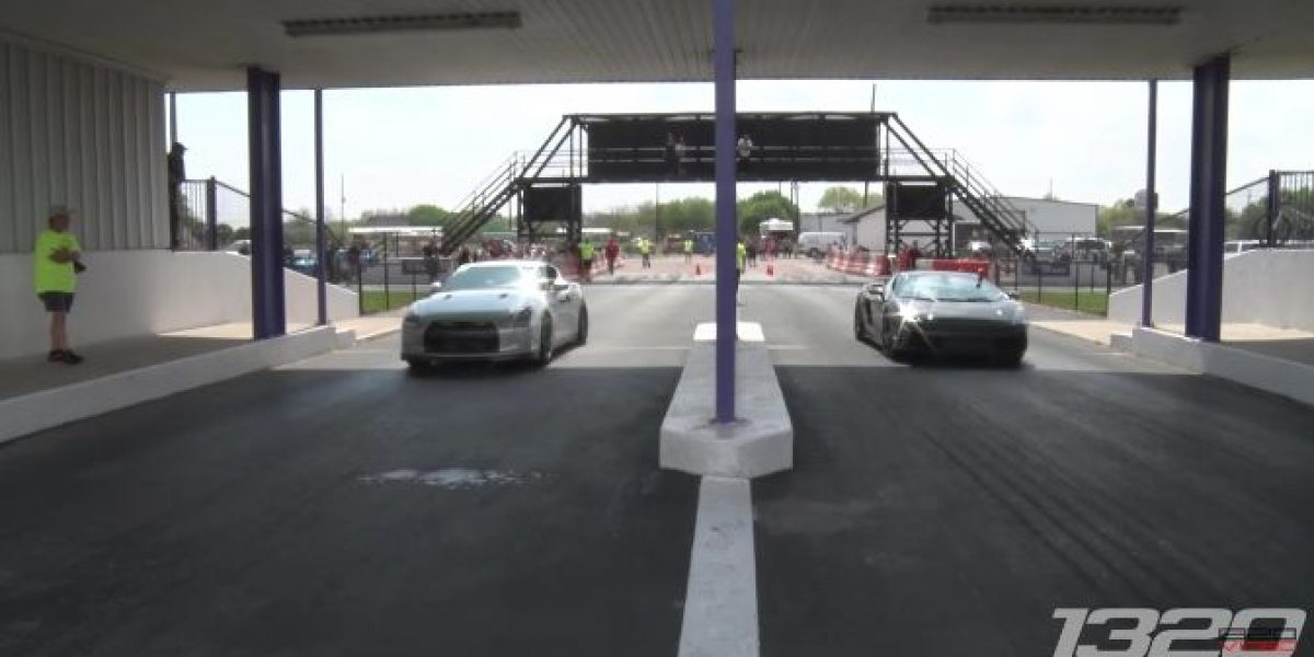 Video: Nissan GT-R v/s Lamborghini Gallardo