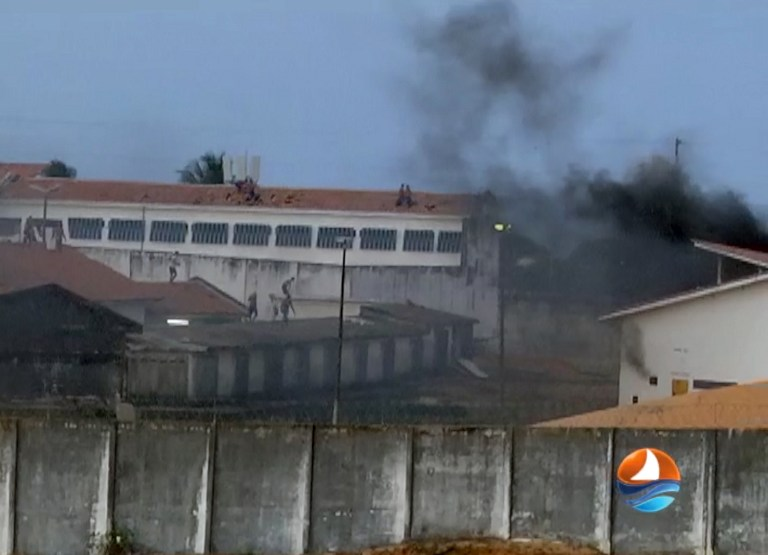 AFP PHOTO / TV PONTA NEGRA SBT