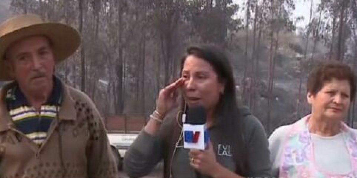 "Marilyn Pérez, la notera de ""Bienvenidos"" que emocionó a televidentes por tragedia en Hualañé"