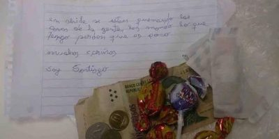 Pequeño argentino emocionó con su donación