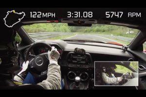 Récord Camaro ZL1 en Nürburgring