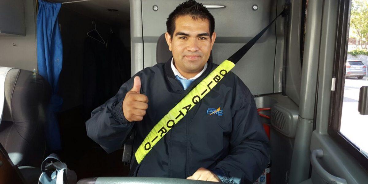 Pedro Parra chofer con bono