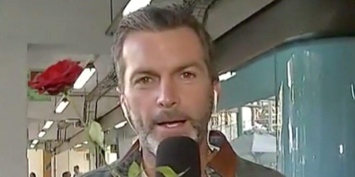 Cristián Sánchez protagoniza un romántico gesto con Diana Bolocco