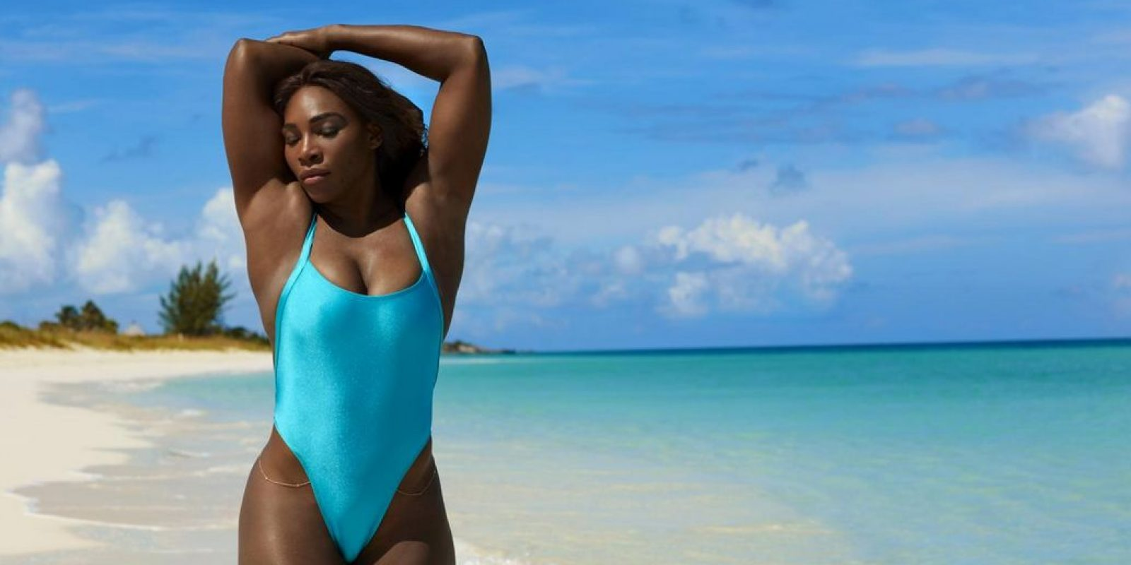Serena Williams posó para Sports Illustrated/Sports Illustrated. Imagen Por: Serena Williams posó para Sports Illustrated/Sports Illustrated