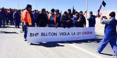 Trabajadores de Escondida insisten en acusar intransigencia por parte de la empresa
