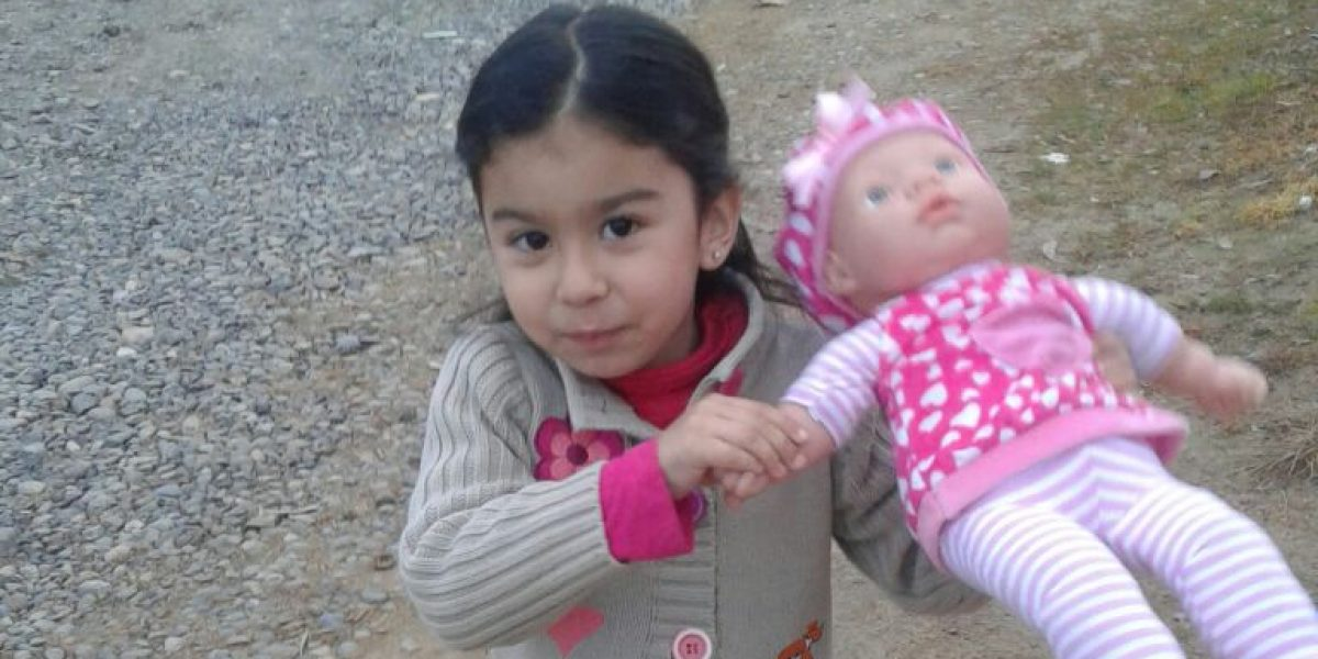 La pena de Monserrat, la niña que perdió su casita de muñecas en los incendios