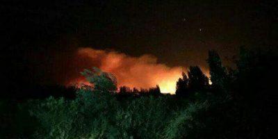 Evacuan la zona de San Alberto y Catillo por incendio forestal descontrolado
