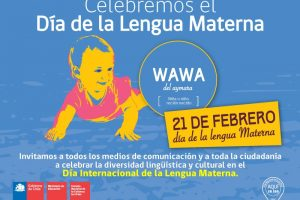 Día de la Lengua Materna. Imagen Por: Consejo Nacional de la Cultura y las Artes