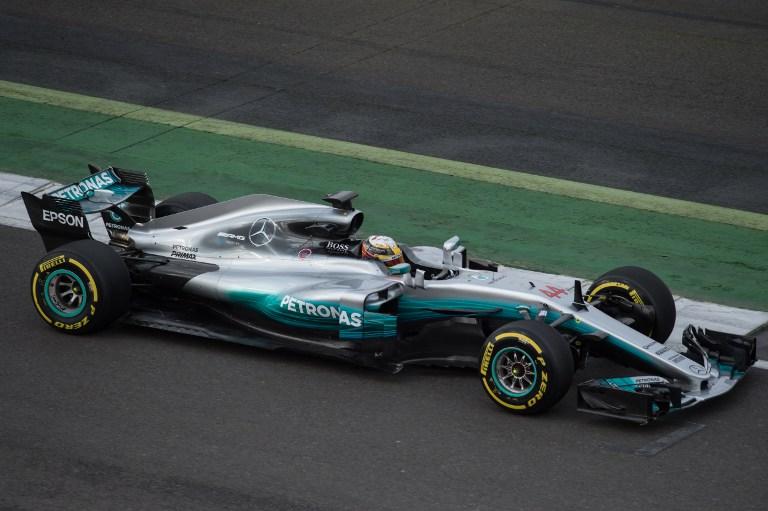 El nuevo auto de Mercedes / AFP