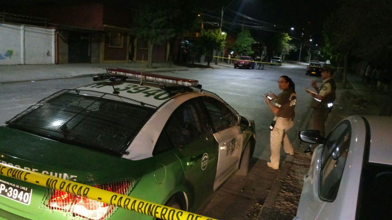 Teniente de Carabineros murió tras ser baleado durante un asalto