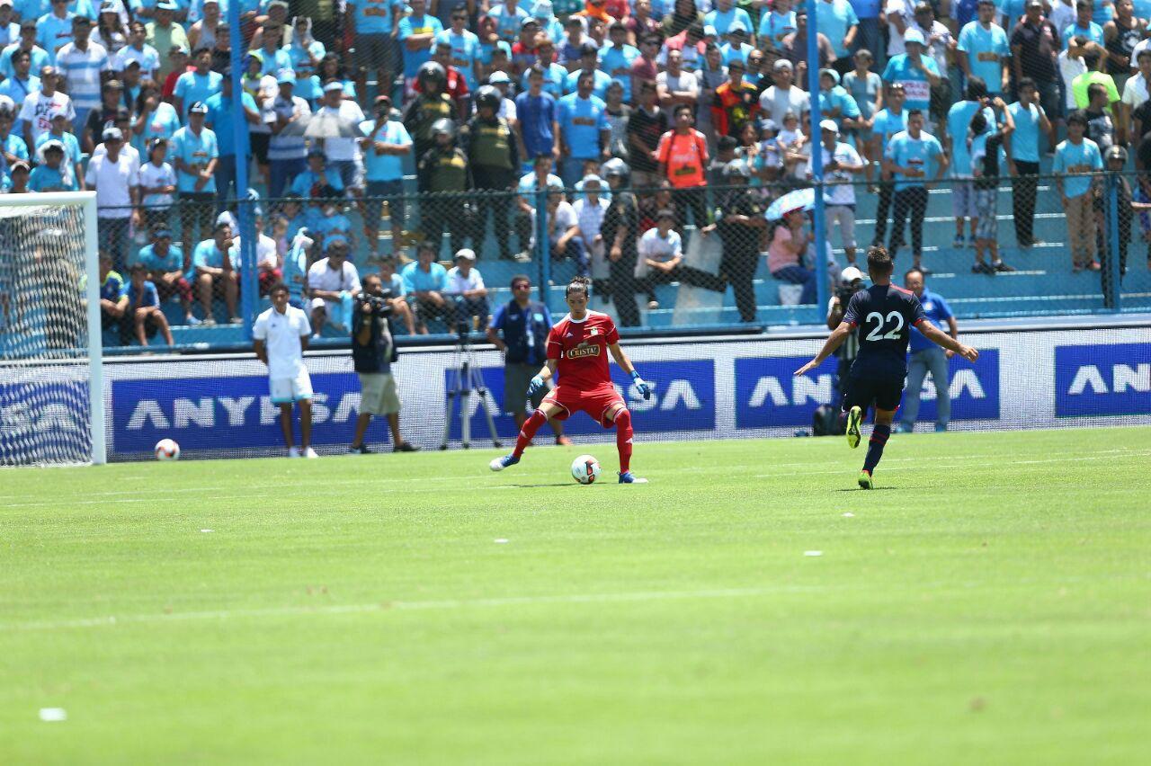 El juego con los pies de Viana ha sido destacado en Perú / Diario Depor de Perú