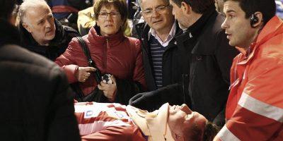 Fernando Torres sufrió un traumatismo craneoencefálico tras fuerte impacto en Riazor