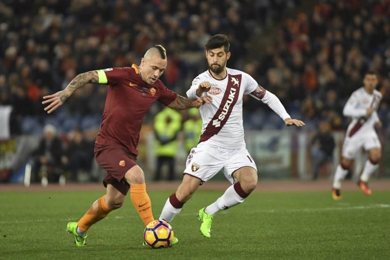 Radja Nainggolan ha llegado a ser capitán de la Roma / AFP