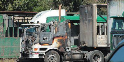 Camioneros amenazan con paro y exigen presencia de ministro Fernández en La Araucanía