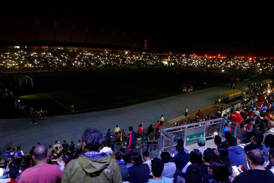 Se produjo un corte de luz en el estadio El Teniente / AgenciaUno