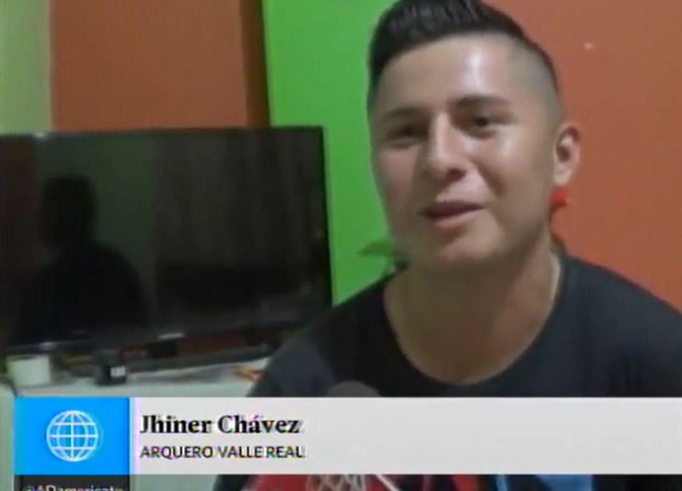 Chávez tras el partido / Reproducción