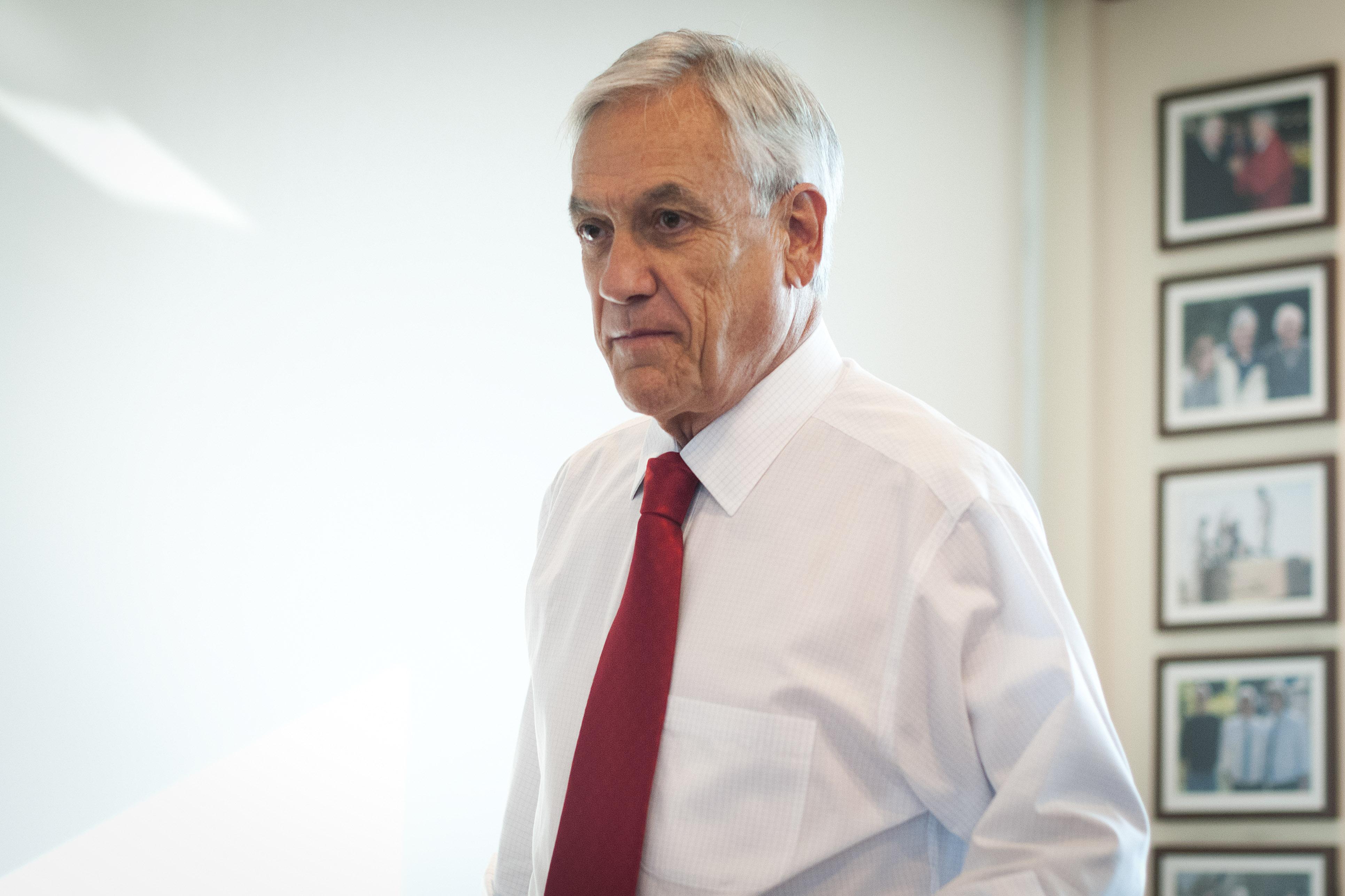 Piñera cuestiona a La Moneda por oficio sobre visitas de Noguera