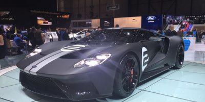 Ford presentó en Ginebra la versión final de su GT