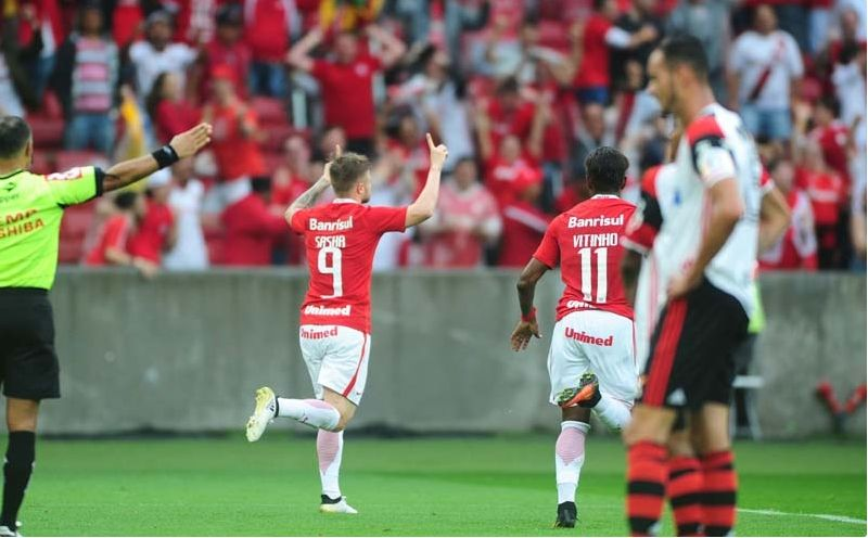 La última derrota de Flamengo se remontaba a octubre de 2016 / imagen: sitio web Internacional de Porto Alegre