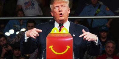 Con tuit, McDonald's le amarga el desayuno a Donald Trump