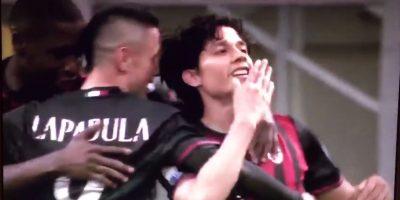El golazo que marcó Matías Fernández para el 1-0 parcial del Milan