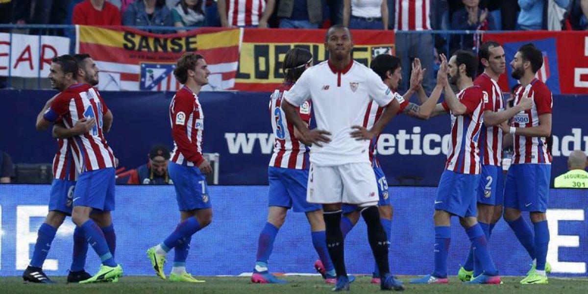 Sevilla cae ante Atlético y Sampaoli comienza a despedirse del título de Liga