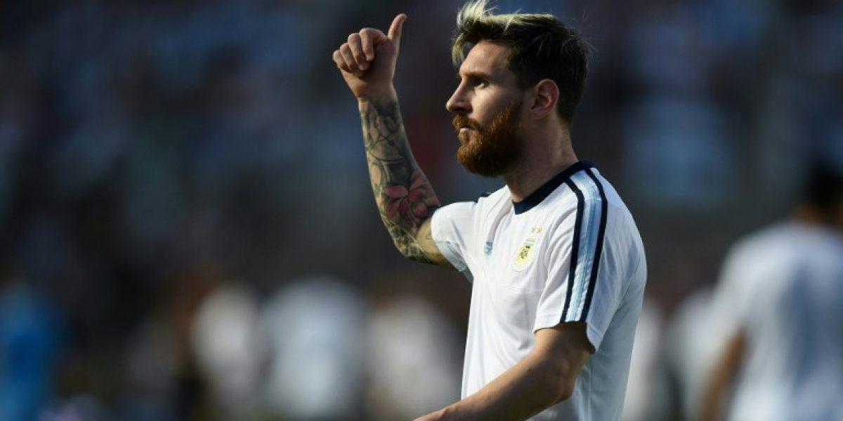 Messi anuncia que Argentina no habla con la prensa por acusación contra Lavezzi