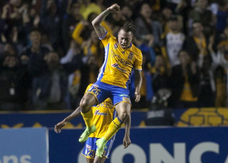 Vargas ha recuperado la continuidad y el gol a nivel de club en Tigres / AFP