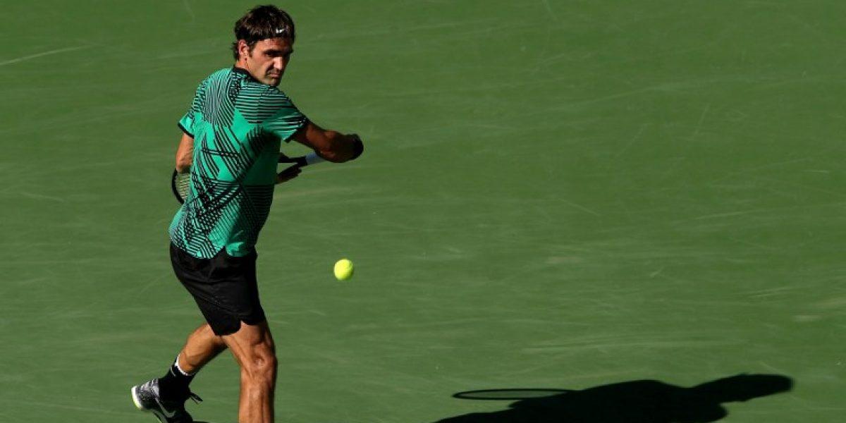 Federer tiene camino despejado para conquistar un nuevo título en Miami