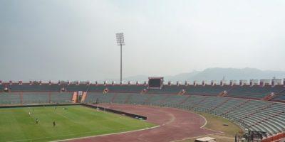 Indira Gandhi Athletic International Stadium (Guwahati): Pese a que tiene una pista de recortán, recibe, principalmente, partidos de fútbol y tiene capacidad para 30 mil espectadores. Inaugurado el 2007, es la sede del equipo NorthEast United FC.