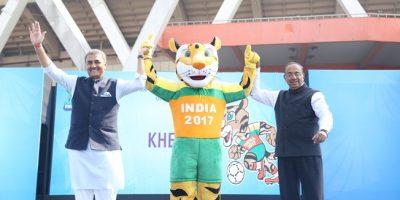 Kheleo será la mascota del Mundial Sub 17 de India y representa a una pantera nebulosa