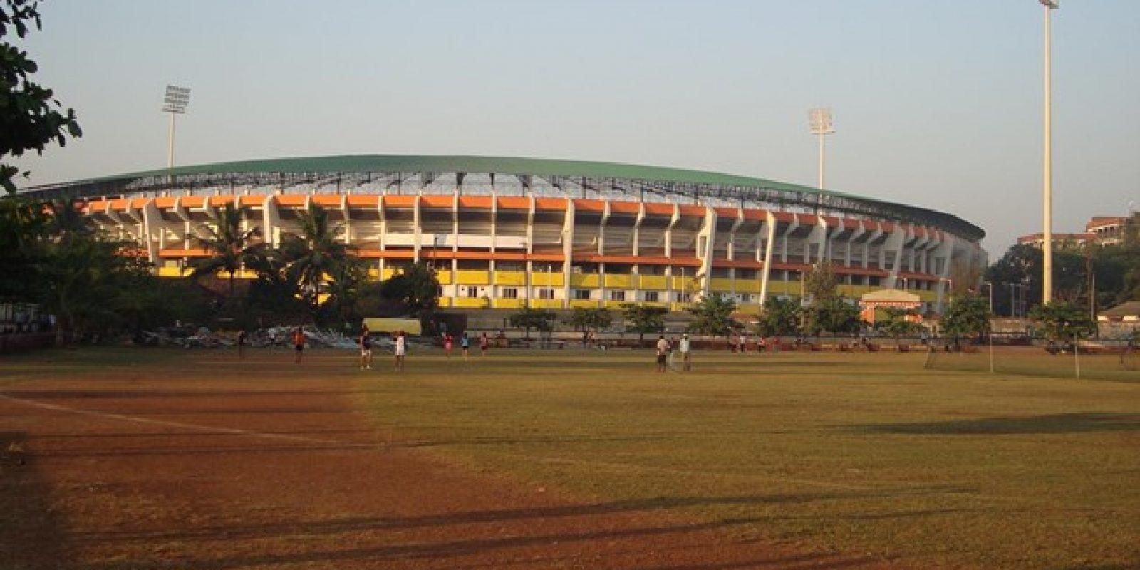 Jawaharlal Nehru Stadium (Goa): Es uno de los tres estadios del Mundial Sub 17 que cambió su nombre para rendir homenaje al primer Primer Ministro de India. Fue inaugurado en 1989 y remodelado en 2014, quedando con una capacidad para 19.000 espectadores, y fue sede del clasificatoria mundialista Sub 17 de Asia.