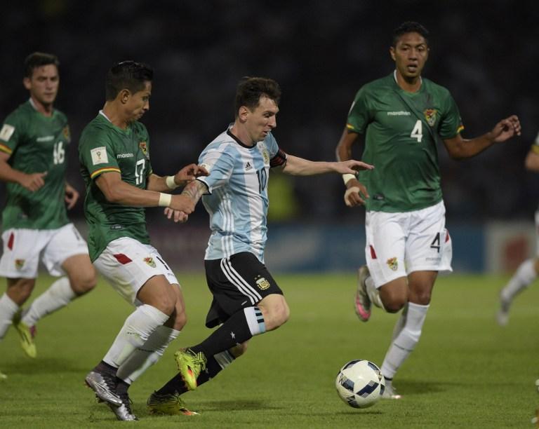 Tras Chile, Argentina va a La Paz / AFP
