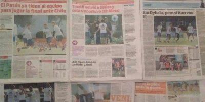 Sandwichería tucumana ofrece sánguches gratis si Aguero mete un gol ante Chile