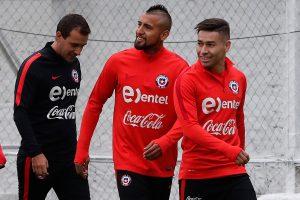 Vidal ya piensa en Venezuela: 'Tengo ganas de jugar, para eso vine acá'