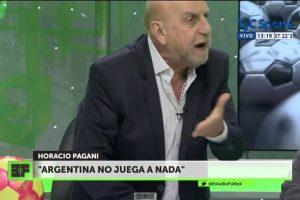 El locuaz Pagani explota: '¡A Messi había que echarlo!'