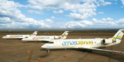 Amaszonas: Nueva línea aérea comenzó sus operaciones en el norte del país