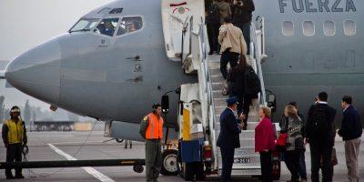 Presidenta Bachelet partió con retraso rumbo a Haití