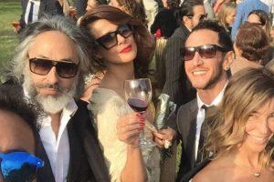 Tonka y Parived se robaron las miradas con su look en matrimonio de JP Queraltó