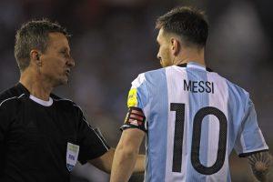 La defensa de Messi: 'Mis dichos jamás fueron al asistente, sino que al aire'