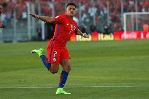 FIFA eligió a Alexis como el mejor de la jornada en Sudamérica