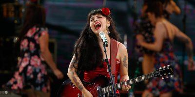 Mon Laferte compartirá escenario con Metallica, Gorillaz y The Who