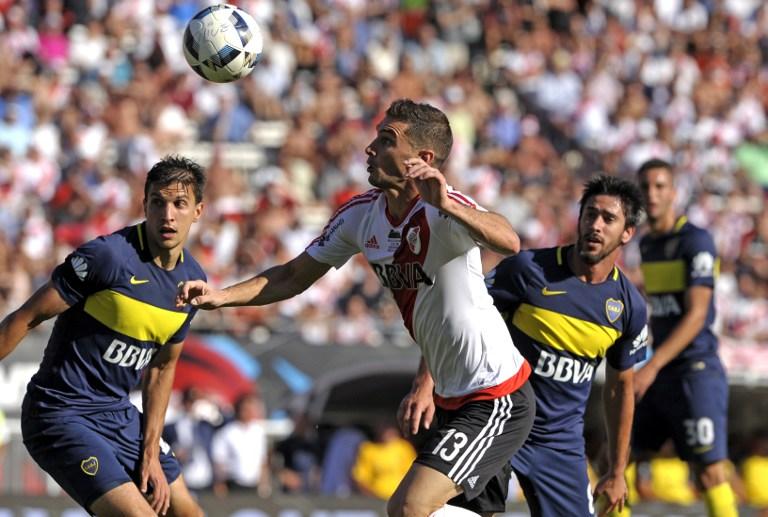 Boca Juniors vs. River Plate / AFP