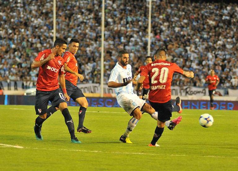 Independiente vs. Racing Club / Facebook Racing