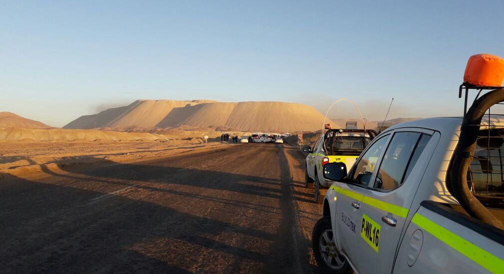Dirigentes sindicales bloquean acceso a mina