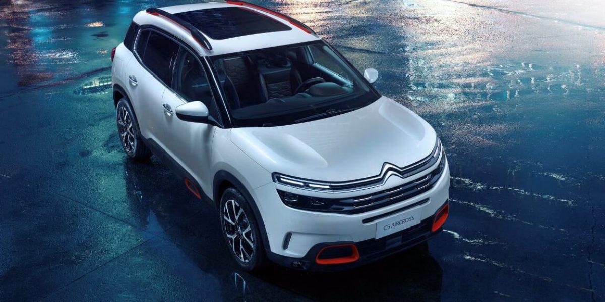 Estreno mundial del Citroën C5 Aircross