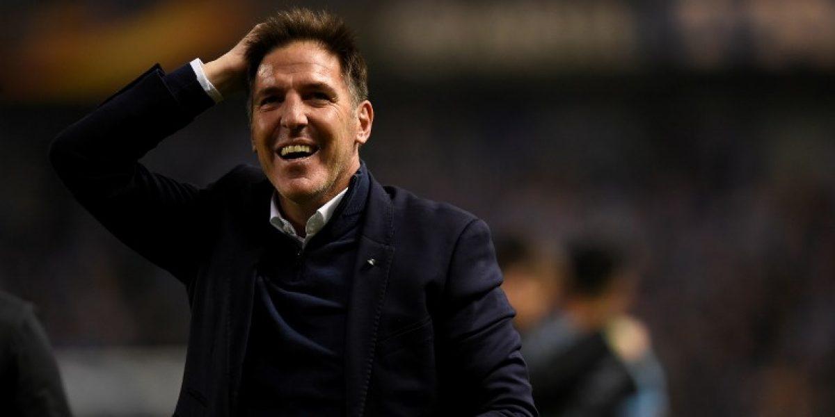 Berizzo da pistas de su futuro tras clasificar a semifinales de la Europa League con el Celta
