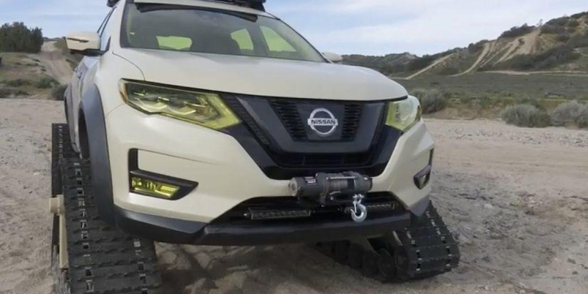 El rudo Nissan X-Trail presentado en Nueva York