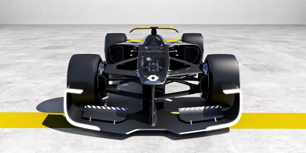 Así serán los monoplazas de F1 en una década, según Renault